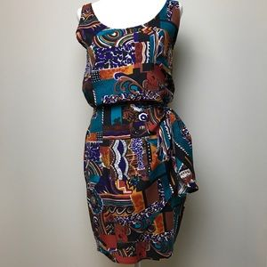 Vintage Jay Jacobs 2 piece Camisole and Wrap Skirt